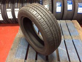 Single Used Tyre 195/55rf16 87V Wanli S-1063 Run Flat Dot 4911 6mm £30