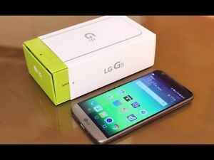 ⭐ Daily Deal: Unlocked LG G5 Gold + Box 32gb - Excellent -- WOW!
