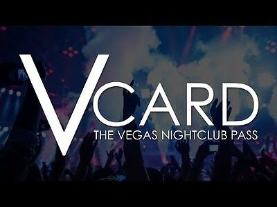 V Card - The Ultimate Vegas Nightclub Pass