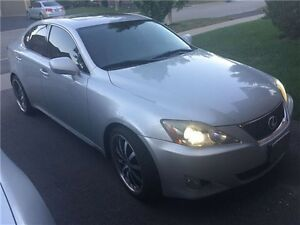 "2006 Lexus IS350 $8k OBO with 19"" VOSSEN wheels + NEW exhaust"