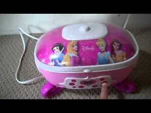 Disney Princess Cd player and Step stool with storage drawer. Windsor Region Ontario image 2