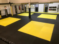 4 x 20mm Jigsaw Mats 1m2 Best UK Prices, UK wide Delivery, For Taekwondo, Kickboxing, Karate, MMA