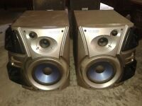 Kef and Kenwood Speakers