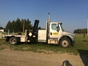 2005 Freightliner M2-106 5T Hiab Knuckle Picker
