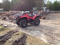2014 Can am 650xt Low Km Sell or Trade for Gm/Chevy Truck