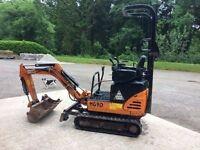 Hanix H09D mini excavator