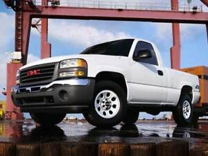 WANTED 2000 - 2007 GMC Sierra 4X4 4.3L