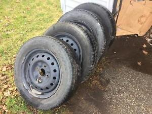 Good condition tires 3/4 tred