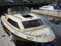 Shetland Family 4 Motor Cruiser, Cabin Cruiser