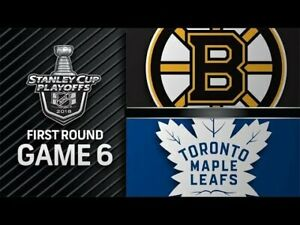 LEAFS vs BRUINS -GAME 6 TIX!! Apr. 21st-Last Pair! FACE VALUE!!!