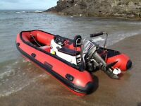 Wetline 450hd Sib/rib inflatable boat