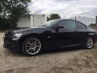 BMW 3 series coupe. Metallic Black. 2.0L. 2007.