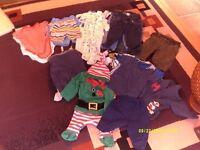 bundle boys baby clothes age 6/12 mths