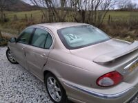 JAGUAR X TYPE - Great condition in and out. Low mileage. Auto, Full Electrics. Roof Rails & Tow Bar