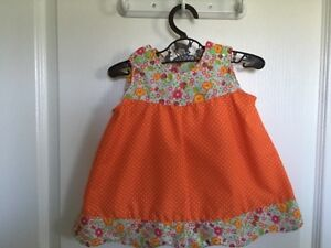 Various homemade baby clothes (0-3mos)