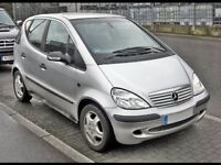Mercedes Benz A Class 2002 - AUTOMATIC