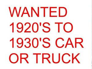 WANTED 1920, 1930'S