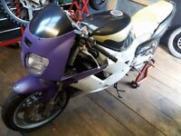 Yamaha fzr 1000 exup foxeye project (possible streetfighter)