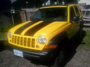 2006 Jeep Liberty.  Gets attention *WANT IT GONE*