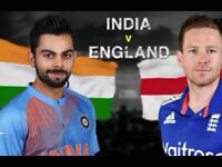 5 x ENGLAND VS INDIA T20 @ Old Trafford FRONT ROW seats 03/07/2018