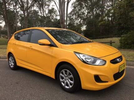 2014 HYUNDAI ACCENT RB2 ACTIVE6 SPEED  MANUAL