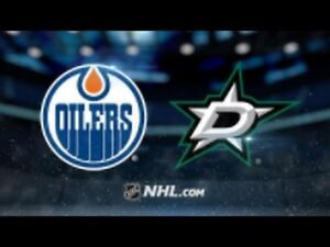 Dallas Stars vs Edmonton Oilers (Row 5, Aisle Seats)