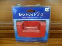 Two hole punch