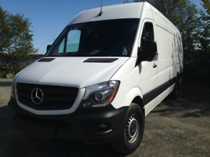 Mercedes Sprinter Van - extra tall extra long camper