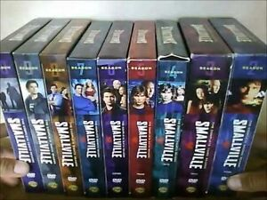 Smallville: The Complete Series (Seasons 1-10) DVD Sets ( Mint)