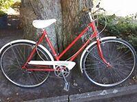 Ladies Vintage Giro D'italia town bike £40