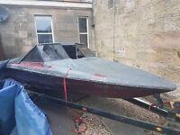 Glastron bowrider, fletcher/bayliner/cuddy/project/boat builder