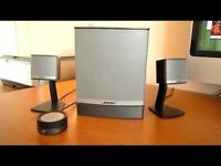 Bose companion speakers. Perfect condition