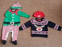 Christmas outfits 6-9 months