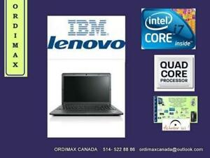 *IBM  LENOVO  THINKPAD EDGE E540 Intel I7 QuadCore ( 4e génération)  Business  Laptop  15 ""