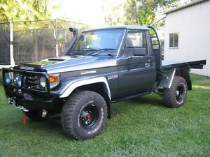 WTB: Toyota Landcruiser 75 series / 79 series Utes Rochedale Brisbane South East Preview