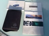 Mercedes Benz C Class Coupe Owners Manual 2001-2007