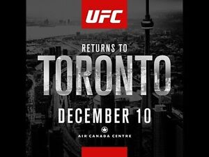UFC 206 at the ACC