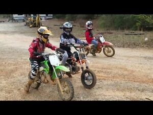 Looking for reliable kids dirtbike with ownership papers