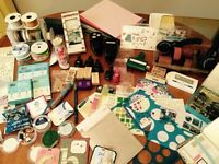 Large Lot Scrapbooking Supplies