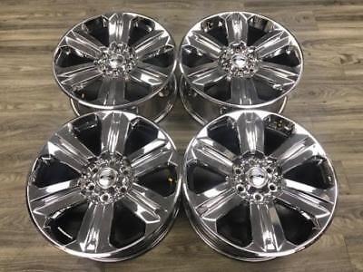 "20"" Ford F150 F-150 Expedition OEM Original Rims Wheels Factory Chrome Set of 4"