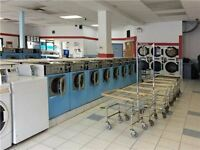 $349,000 Very Busy Coin Laundry With Dry Cleaning  For Sale
