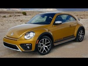 "2016 VW ""Dune"" Beetle. Lease takeover $377"