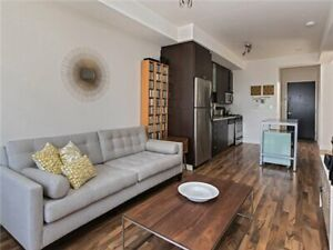 1 Shaw st, Large 1BR + Den w/ locker and parking, Avail July 1