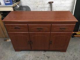 medium brown sideboard for sale