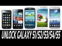 UNLOCK SAMSUNG GALAXY mini S3/S4/S5 NOTE 2/3/4 CORE/ALPHA