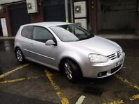 2006 VW Golf 2.0 GT FSI 3DR low miles only 84k, full mot,trade in considered,credit cards accepted