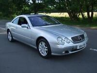 MERCEDES CL 500 CL AUTOMATIC COL SAT SILVER 2000 X REG 2 DOOR COUPE