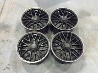 """19 20"""" Inch C63 AMG Merc Style Alloy Wheels A C E S CLASS W204 W205 W212 W213 5X112 W221 W222"""