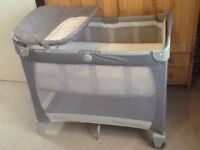 GRACO Electra Travel Cot with Basonet