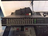graphic equalizer good working order